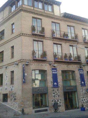 Hotel Abad Toledo : Fachada del hotel