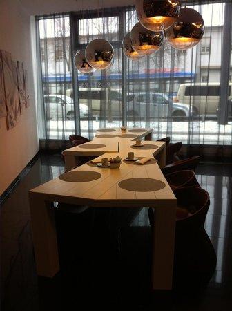 Eurostars Grand Central: tavolo