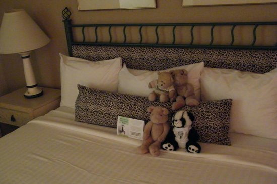 Safari Inn: everyone loves the style of the bed