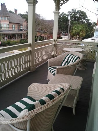 The Addison on Amelia Island: Room Balcony was huge