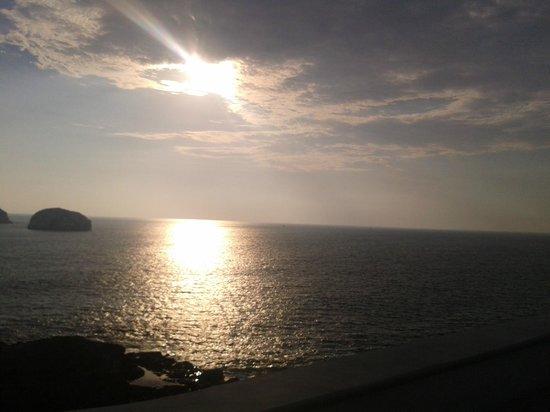 Hotel Playa Mazatlan: Vista desde el pabellon Sep 2012