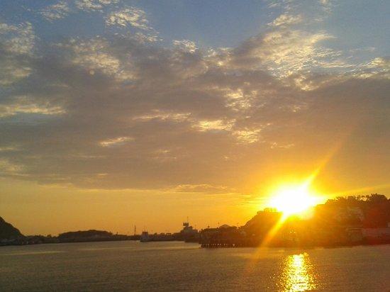 Hotel Playa Mazatlan: Vista desde el mar Sep 2012