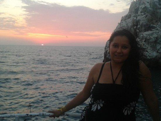 Hotel Playa Mazatlan: Vista del mar desde un crucero