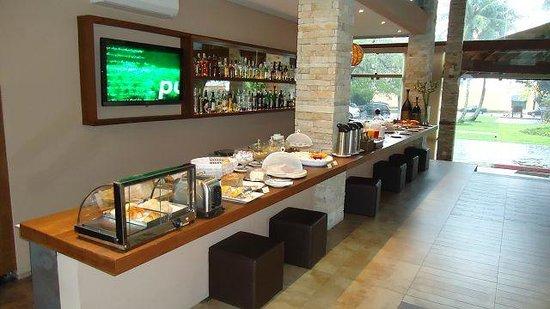 Real Villa Bella Hotel: Frühstücksbuffet