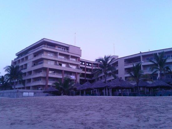 هوتل بلايا مازاتلان: Vista desde el mar Sep 2012