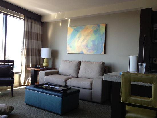 Bay Lake Tower at Disney's Contemporary Resort: View of 1 bedroom unit