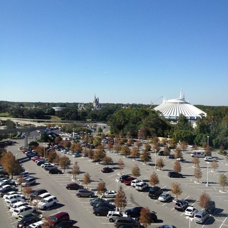 Bay Lake Tower at Disney's Contemporary Resort: View from our room