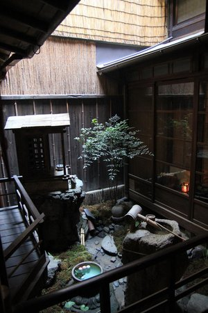 Guest house Rakuza: From the upper level
