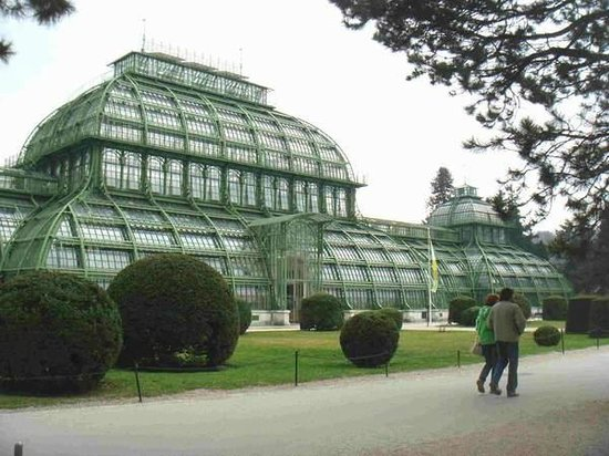 Palmenhaus Schoenbrunn: Extérieur