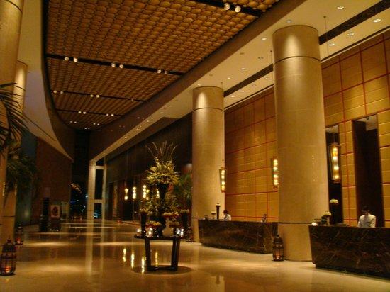 Lobby picture of intercontinental dubai festival city for Gucci hotel dubai