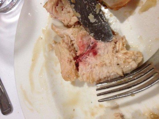 คราวน์พลาซ่าลอนดอน เคนซิงตัน: Raw turkey Xmas dinner