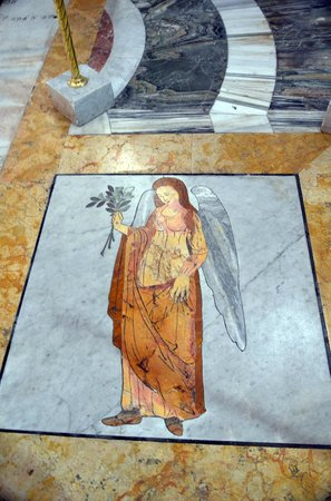 Basilica di Santa Maria degli Angeli e dei Martiri: Floor detail
