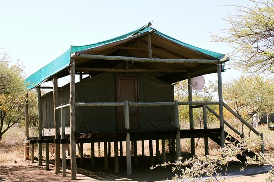 Dumela Lodge: Our luxury tented chalet