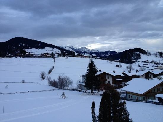 Embacherhof: uitzicht vanaf de kamer