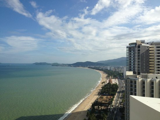 Sheraton Nha Trang Hotel and Spa: View from the club lounge