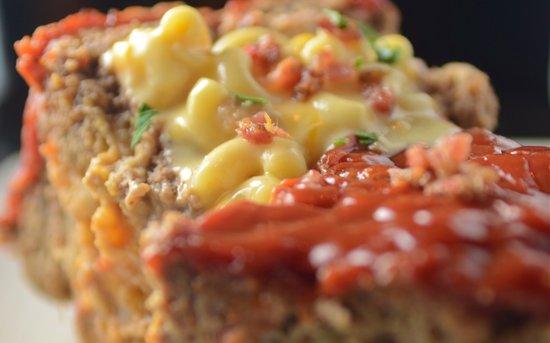 Datz Tampa : Mac n Cheese Stuffed Meatloaf