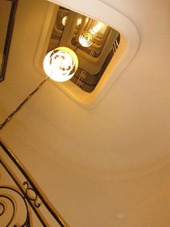 K+K Hotel Cayre: Stairs