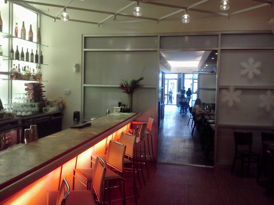 Hapa Sushi Grill and Sake Bar: Back Bar
