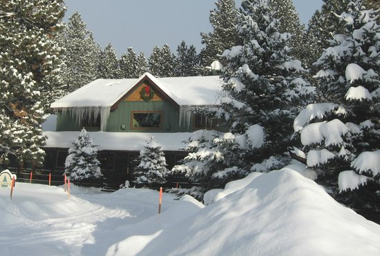 ‪‪Blue Spruce Bed and Breakfast‬: Great for activities in the snow!‬