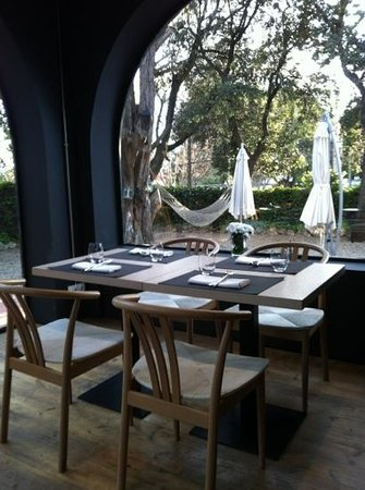 Ebano Gastro Bar: vistas al jardin