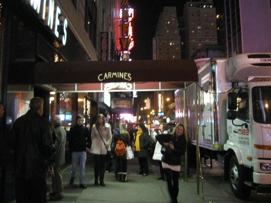 Street view picture of carmine 39 s italian restaurant for Carmines nyc