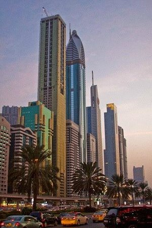 Sheikh Zayed Road Hotel Area Picture Of Nassima Royal