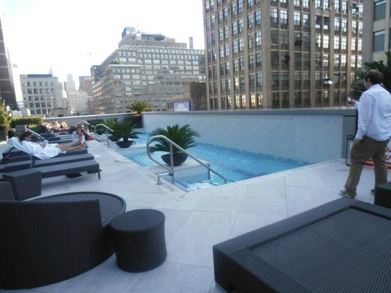 Roof Pool Picture Of The Dominick Hotel New York City Tripadvisor