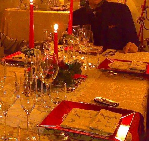 Il Palazzo di Ridracoli: La tavola di Natale del Palazzo di Ridracoli 16/12/2012