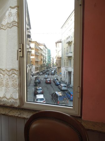 View from the room - Hotel Principi D'Acaja – Turin, May 2, 2012