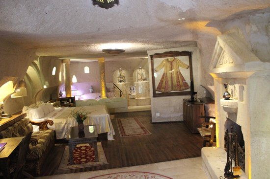 Gamirasu Cave Hotel: roman king Süit