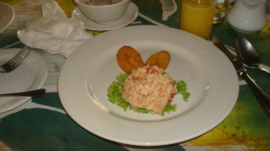 Kariwak Village Holistic Haven and Hotel: Breakfast was yummy.