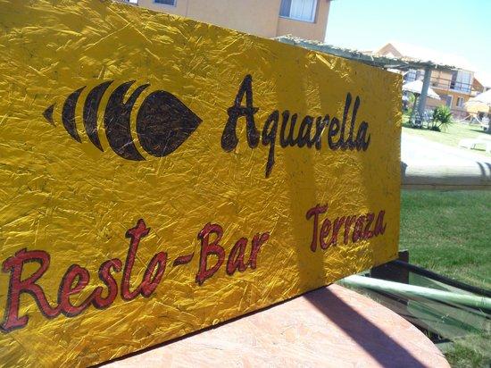 Aquarella Ristorante-Bar: Aquarella restobar