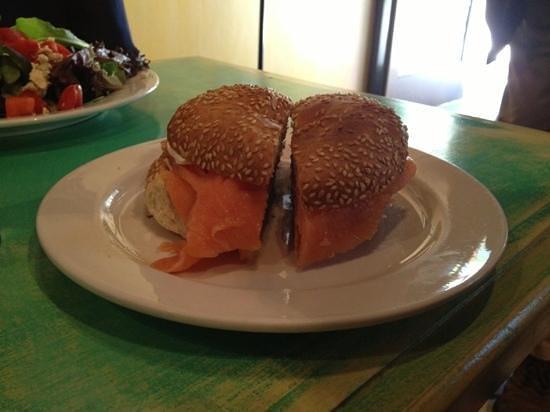 Fabrison's: bagel sandwich
