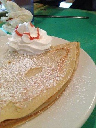 Fabrison's: butter and sugar crepe