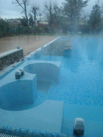 Hotel Abano Terme Cristoforo: idromassaggi all'aperto