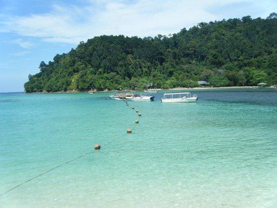 Shangri-La's Tanjung Aru Resort & Spa: Sapi island