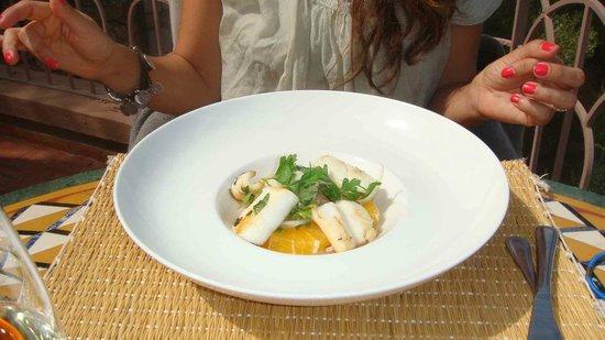 Kasbah Tamadot: Calamari Salad