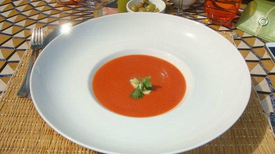 Kasbah Tamadot: Gazpacho