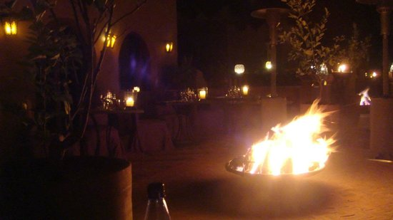 Kasbah Tamadot: Evening Restaurant