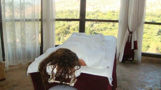 Kasbah Tamadot: Massage room
