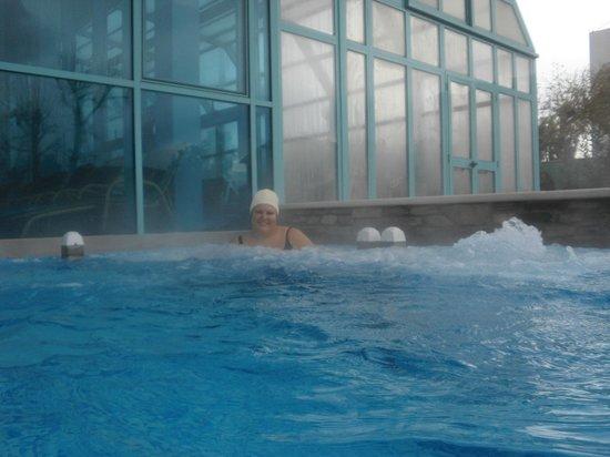 Hotel Abano Terme Cristoforo: idromassaggi esterni a pulsante