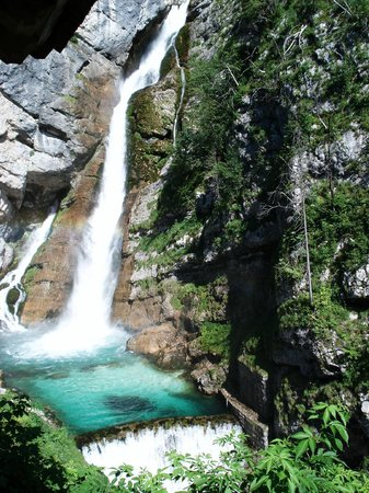Apartment House Jager : Awesome hike to nearby spectacular waterfalls. Don't miss.