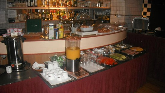 Doria Hotel Amsterdam: breakfast