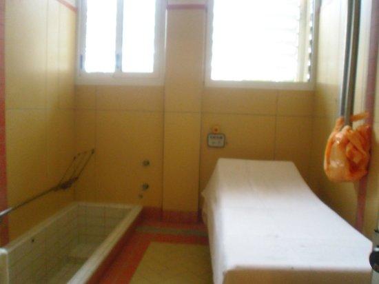 Hotel Abano Terme Cristoforo: camera fango-terapia: veduta