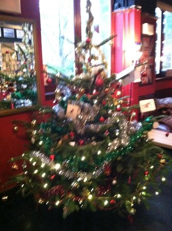 Travel Joy Hostels Chelsea: Travel Joy Hostel's xmas tree
