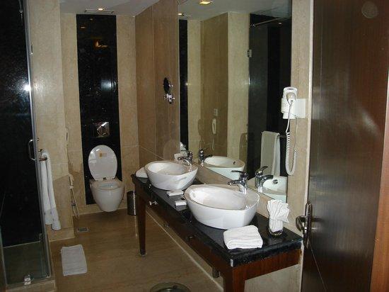 Clarks Inn, Gurgaon, Delhi-NCR : Salle de bains de la suite