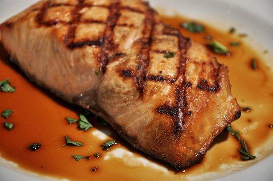 Bella Milano: Charbroiled Salmon