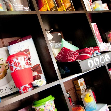 Bayaroma Cafe: We even sell some quirky Merchandise !!!