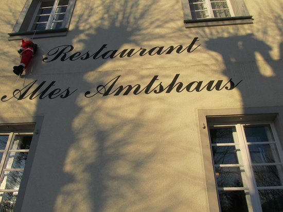 Altes Amtshaus: Outside of restaurant