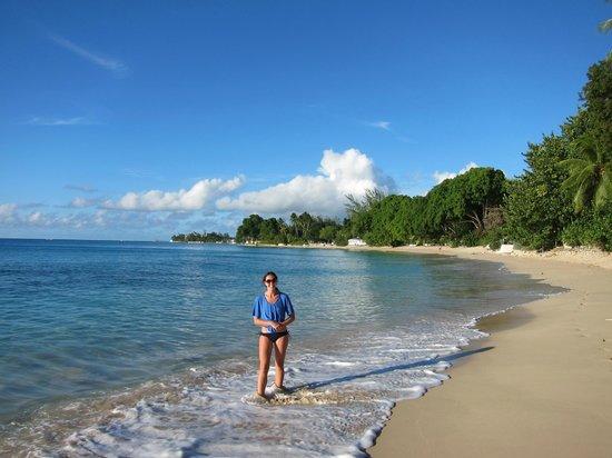 Emerald Beach: beach